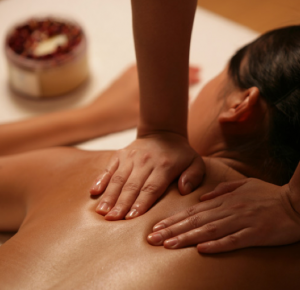 de-stress with massage